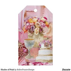 Shades of Pink Pack Of Gift Tags