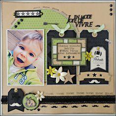 Bonjour ! Chose promise, chose due ! Je viens vous montrer une page faite avec une partie des dernières collections de chez Florilèges Design. J'adore les associations des Sweety Clears avec les Sweety Cuts (les petits tags), je ne m'en lasse pas ! Quant...