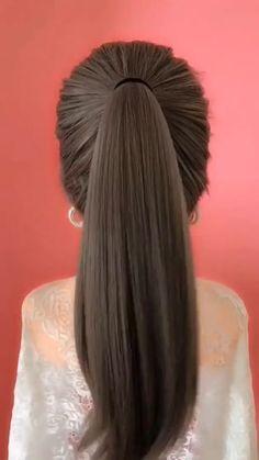 work hairstyles for long hair . work hairstyles for long hair updo . work hairstyles for long hair quick . work hairstyles for long hair easy Bun Hairstyles For Long Hair, Braids For Short Hair, Hairstyles Videos, Hair Updo, Braided Hairstyles, Medium Hair Styles, Long Hair Styles, Hair Upstyles, Long Hair Video