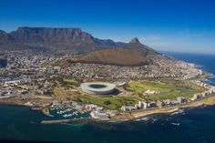 Capetown by helicopter