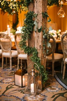 An Intertwined Event: Enchanted Indoor Wedding at Montage; Lantern, Greenery, Wood Pergola, Luxury Wedding