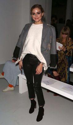 Si no pudiste ver los desfiles de la última semana de la moda, deberías analizar los looks de Olivia Palermo.