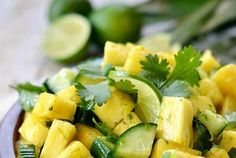 Pineapple Cucumber Salad Recipe - Amsety