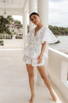 Bridesmaid Pyjamas, Petal Sleeve, Cute Pajamas, Pajamas Women, Comfortable Fashion, Spring Outfits, Summer Outfit, Pajama Set, Lounge Wear