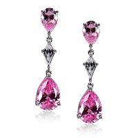 Pear Drops in Fancy Pink #caratlondon #jewellery #pink