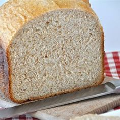 """Whole Wheat Honey Bread 