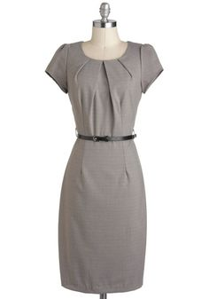 Editors' Meeting Dress, #ModCloth  #partydress    so sharp! Great for work or drinks