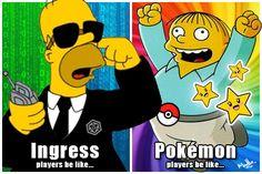 The Ingress/Pokemon Go struggle is real.