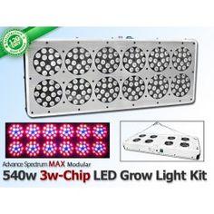 540 watt advanced spectrum max 3w chip modular led grow. Black Bedroom Furniture Sets. Home Design Ideas