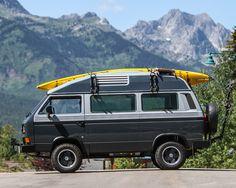 Vw Bus T3, Volkswagen Bus, Vw T, Vw Vanagon, Cool Campers, Van Camping, Diy Camper, Car Travel, Car Photos