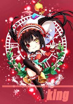 Date A Live Kurumi Tokisaki - Christmas version