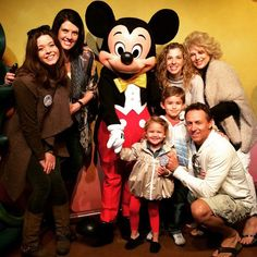 Pin for Later: This Week's Cutest Celebrity Candids  Pretty Little Liars actress Sasha Pieterse took a photo with Mickey Mouse.
