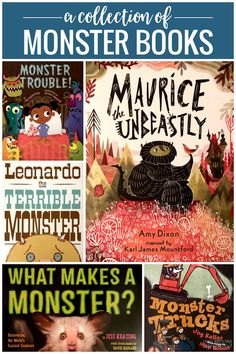 Your students will love this MONSTROUS collection of monster books. They're a whole lot of fun and just a little bit scary. Monster Book Of Monsters, Little Monsters, Scaring People, Interactive Read Aloud, What Is Work, Alliteration, Mentor Texts, Classic Books, Nonfiction Books