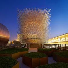 UK pavilion expo milan 2015 wolfgang buttress designboom