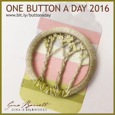 Day 137: Spinney #onebuttonaday by Gina Barrett