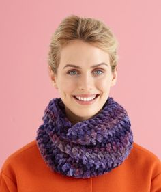 It kind of looks like the stitch. you will need 2 skiens of yarn of soft bulky weight yarn