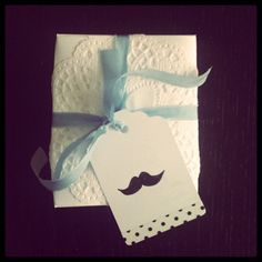moustache gift tags