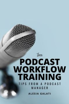 Would you like my FREE training to keep your podcast workflow on track every week? Grab my FREE Podcast Workflow Training! Swipe the extensive process I use for my high-level podcast clients! This training includes a video, full-length checklist, and Trello board to guide you through each step of your podcast production without forgetting something! Free Training, Training Tips, Working Mom Tips, Video Full, Perfect Word, Business Entrepreneur, High Level, Money Management, Track