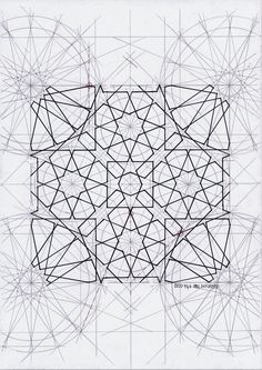 Bou0146 #islamicgeometry #islamicpattern #islamicart #arabiangeometry #symmetry #geometry #art #handmade #mathart #regolo54 #Escher #star