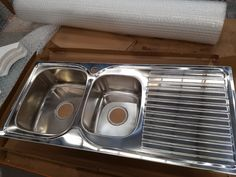 Oliveri EE11 Endeavour 1 & 3/4 Bowl Inset Sink With Drainer