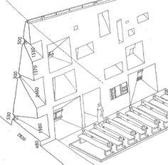 visible certainty - urbain: Façade sud, Chapelle de Ronchamp, Le...
