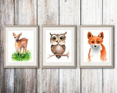 This item is unavailable Penguin Illustration, Watercolor Illustration, Watercolor Paintings, Deer Print, Fox Print, Cat Lover Gifts, Cat Lovers, Cat Drinking, Wall Art Quotes