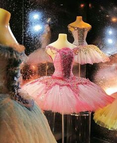"""""""Little Costume Shop"""" by Malcolm Bull. From a display cabinet in the foyer of Covent Garden, miniature ballet costumes for sale, beautifully hand-made by costume designer Vin Burnham. Tutu Ballet, Ballet Dance, Ballet Shoes, Pointe Shoes, Ballerina Costume, Bolshoi Ballet, Toe Shoes, Princesa Tutu, Repetto"""