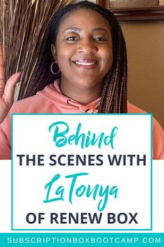 In this episode, Julie chats with one of her students from Subscription Box Bootcamp, LaTonya Williams of Renew Box. LaTonya tells us all about her box and her experience in launching it. Start a sub box, How to start a subscription box, Start a subscription box, Complete Business Plan, Business Ideas, How to Make Money, Entrepreneur Inspiration, Business Launch Ideas, Business Interviews, Trendy Business Ideas! #planning #subscriptionbox #interview #trendybusiness #subboxideas #businessplan