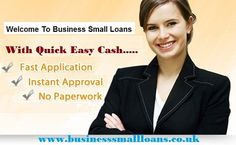 Apt Business small loans for the needy and helpless business person to manage their unexpected fiscal crisis without much delay and obligation. If you need this fund urgently then you should apply with the simple application process financial source via online mode. Read More : http://businesssmallloans.blogspot.co.uk/2014/12/beneficial-financial-option-for.html