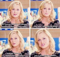 Having a wrist • Parks and Rec