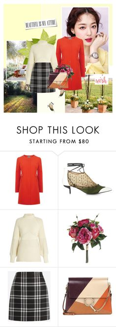 """Rise and Shine"" by giko-is-giantsister ❤ liked on Polyvore featuring J.W. Anderson, Sportmax, J.Crew and Chloé"
