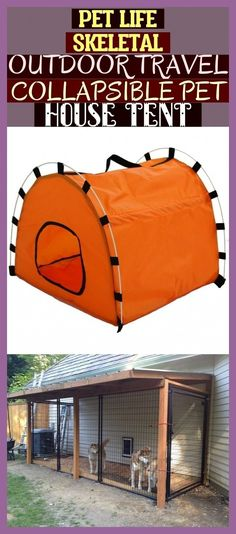 Pet Life Skeletal Outdoor Travel Collapsible Pet House Tent ! #dogkenneloutdoor ... ,  #Collapsible #dogkenneloutdoor #House #Life #Outdoor #paintedDogKennel #Pet #Skeletal #Tent #Travel House Tent, Dog Kennel Cover, Pet Life, Animal House, Outdoor Travel, Pets, Pet Store, Animals And Pets, Travel