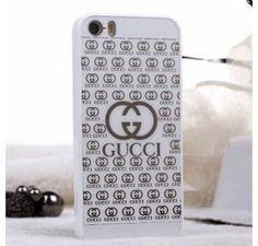 New Arrival Real Gucci iPhone 6 Cases - iPhone 6 Plus Cases - Designer Polished Case White - Free Shipping - Chanel & Louis Vuitton Authorized Store