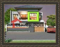 Jasa Arsitek Desain Gambar Rumah di Bengkulu - Minimalis Modern Minimalist House Home Fasade