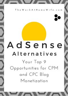 Bad things sometimes happen when relying on Google AdSense for online income. This leaves many webmasters each year scrambling for alternatives. Make money blogging #money #blog