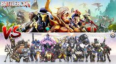 Battleborn Vs Overwatch? http://www.funkyvideogames.com/battleborn-vs-overwatch/ #battleborn #overwatch #BattlebornVsOverwatch