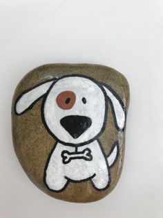 Pebble Painting, Pebble Art, Stone Painting, Stone Crafts, Rock Crafts, Arts And Crafts, Painted Rock Animals, Painted Rocks Craft, Mickey Mouse Crafts
