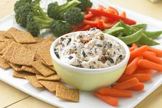 PHILADELPHIA Tuscan Dip - Ahh, Tuscany: the summer sun on the hills, the sun-dried tomatoes and olives. We've captured it all for you in this dip. It'll take you there during every bite. Cold Appetizers, Appetizer Dips, Appetizer Recipes, Kraft Recipes, Dip Recipes, Cooking Recipes, Kraft Foods, Yummy Recipes, Healthy Recipes