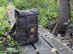 Frost River waxed canvas backpack -- Arrowhead Rolltop Pack
