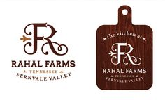 Rahal Farms Identity  - Anderson Design Group