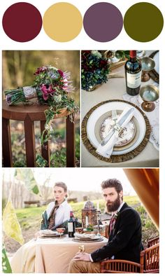 588 best wedding color schemes images on pinterest wedding an intimate glamping wedding inspiration shoot wedding color themeswedding junglespirit Gallery