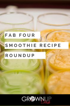 A roundup of ALL of my favorite Fab Four Smoothie recipes that will keep you full with a healthy combination of protein, fiber, fruit and greens. The formula was created by Body Love author and nutrition expert Kelly Leveque. Apple Smoothies, Strawberry Smoothie, Healthy Smoothies, Smoothie Recipes, Smoothie Cleanse, Cleanse Detox, Juice Cleanse, Healthy Protein Snacks, Healthy Recipes