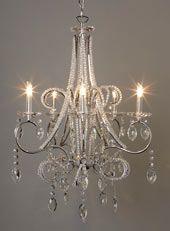 Isadora beaded chandelier