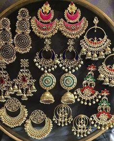 Ideas for diy jewelry silver jewellery Indian Jewelry Earrings, Indian Jewelry Sets, Jewelry Design Earrings, Silver Jewellery Indian, Indian Wedding Jewelry, Silver Jewelry, Silver Ring, Silver Necklaces, Diy Jewelry