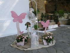 Reception Decorations, Christening, Rustic Wedding, Birthday Parties, Butterfly, Baby Shower, Spring, Party, Design