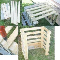 Fabriquer Son Composteur Cest Facile Jardin Pinterest - Comment fabriquer un composteur exterieur