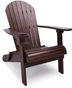 This chair makes a front porch so inviting.  Available finishes are dark brown or white.  $99.99