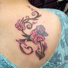 Sweet Pea Tattoo | Sweet Pea Tattoo Picture...