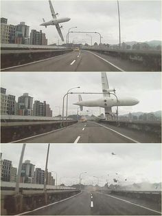 TransAsia jet crash in Taipei River after engine flameout. 31 Dead 17 missing. 2/3/15