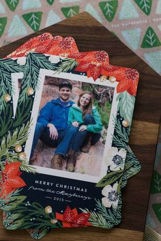 Check out these adorable Christmas cards you could win from Elizabeth @oakandoats and @Minted! Minted Christmas Card & $150 Giveaway